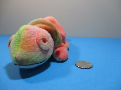 Ty Beanie babies Collection Rainbow Chameleon 8'' 1997