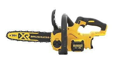 "DEWALT DCCS620B 20V MAX Compact 12"" Cordless Chainsaw (Tool Only)"