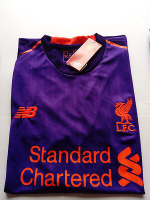 New Liverpool Away Football Shirt Jersey Purple 2018/19