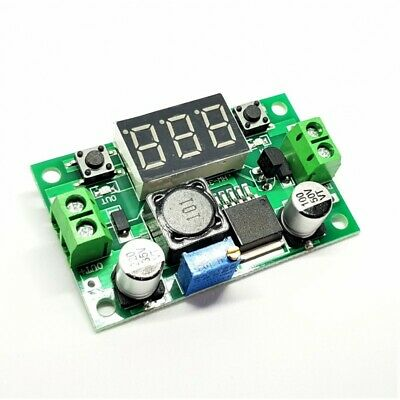 LM2596S LM2596 DC 4.0~40 to 1.3-37V Adjustable Step-Down Power Module 1237A