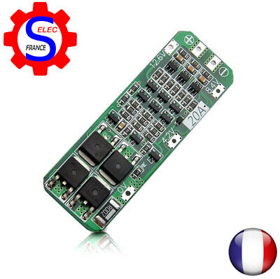 3S 20A Li-ion Lithium Battery 18650 Charger PCB BMS Protection Board 4095B