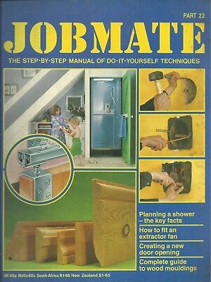 JOBMATE 22 DIY - SHOWER PLAN, FITTING EXTRACTOR FAN etc