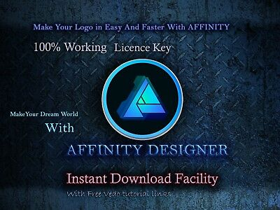 Serif Affinity Graphic Design Software Full Version  Fast EMAIL DELIVERY📩 2018