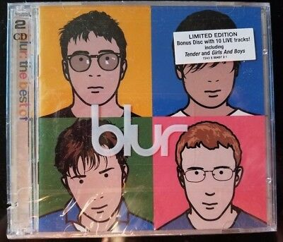 Blur - the best of (Limited Edition w/10 track live bonus CD, 2000) NEW SEALED