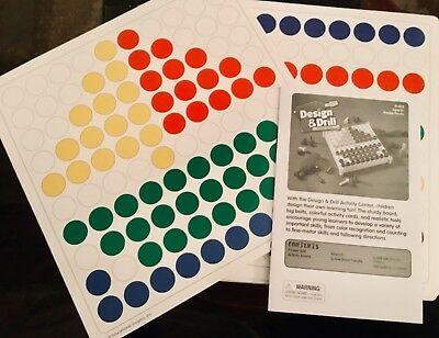 Design Drill Educational Insights 20 Replacement Sheets Creative