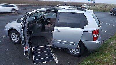Kia Sedona LS AUTO Up Front Wheelchair accessible WAV conversion by Wilson Healy