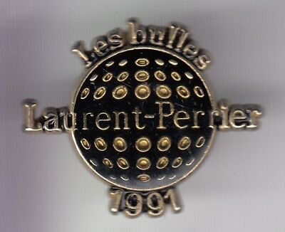 Rare Pins Pin's .. Alcool Vin Wine Region Champagne Golf Laurent Perrier 91 ~Ed