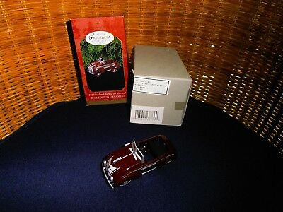 Hallmark 1937 Murray Steelcraft Airflow Pedal Car Ornament Club Edition 1997