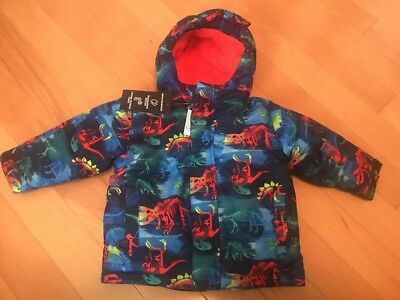 NWT The Children's Place Toddler Boys 3 In 1 Coat Jacket Dinosaurs 18-24 Months