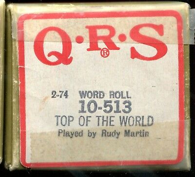 (6)  more again Player piano rolls with words - mixed titles