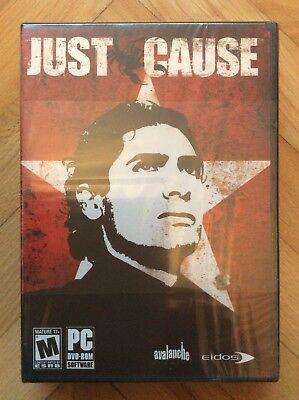 PC Just Cause 1 (New & Sealed)
