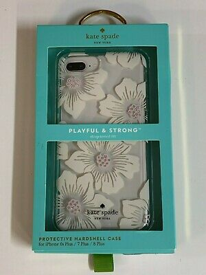 Kate Spade NY Hardshell Case Cover for iPhone 8 plus 7 Plus Charlotte Stripe