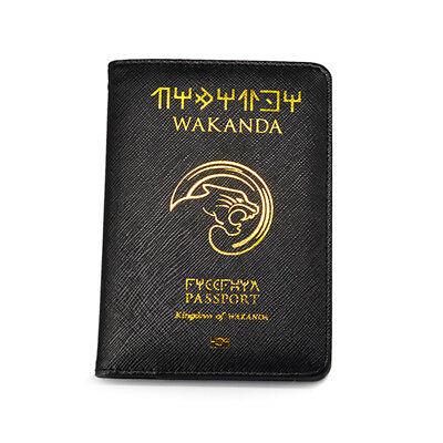 Wakanda Passport Cover Marvel Pasjes Houder Black Panther Passport Case Passport