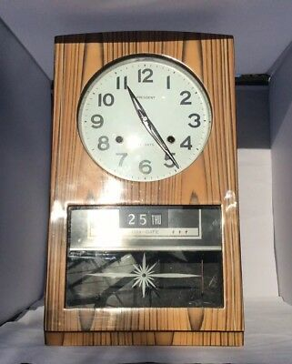 Retro Vintage President Wall Clock 31 Days (Day -Date needs Attention )