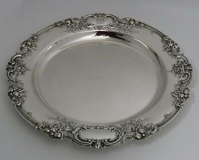 Reed & Barton Francis 1 Sterling Silver Tray Platter Exceptional Workmanship