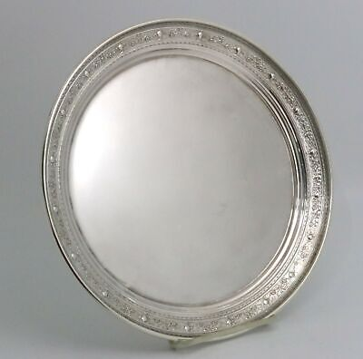 Sterling Silver Tray by M. Fred Hirsch Urns and Floral Design