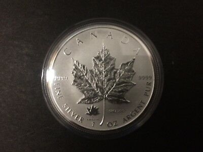 2017 Canada $5 1oz 150th Anniv. Confederation Privy Mark Silver Maple Leaf coin