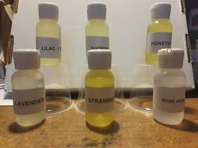 1 oz Scented Fragrance Oil For Candles Soap Making Body Burners