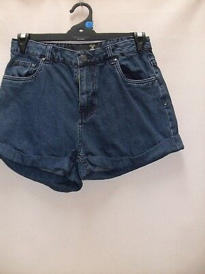 1980's/90's Vintage High Waisted Denim Shorts with Cuffs.