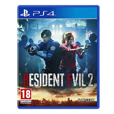 Resident Evil 2 Remake (PS4) Game | Brand New & Sealed | Fast & Free Delivery !