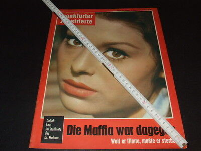 Daliah Lavi … on cover … german magazine … 1961