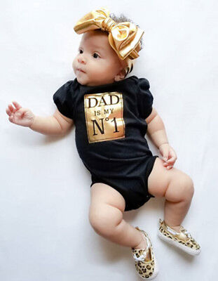Newborn Infant Baby Girls Boys Romper Bodysuit Jumpsuit Outfits Playsuit Clothes