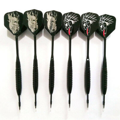 Pro Tungsten Steel Black /Red Flights Sports Darts with Needle Tip 3pcs/Set O18