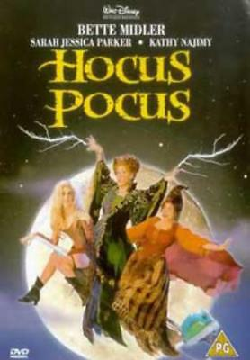 Hocus Pocus =Region 2 DVD,sealed=