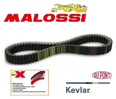 Malossi Racing Belt for Kymco Xciting 500, Made with Kevlar®