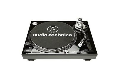 Audio Technica At-Lp120-Usb - Direct Drive Turntable (Black) - 2007
