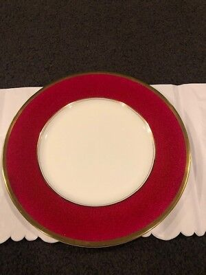 Coalport Athlone Marone Dinner Plate Ruby Red - Multiple Available