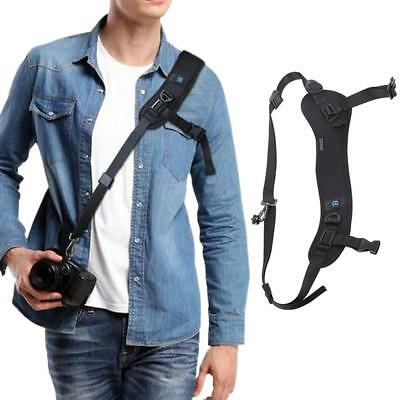 SLR Camera Strap Rapid Fire Camera Neck Strap Quick Releasing and Safety Tether