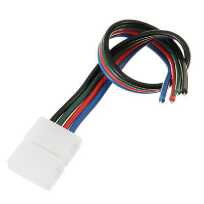8mm 4-PIN 22AWG RGB Connector Cable Connect Non-Waterproof  2835 3528 LED Strip