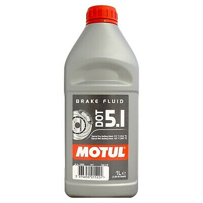 Motul DOT 5.1 Brake Fluid Long Life Fully Synthetic - 1 Litre 1L