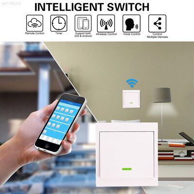 7BD6 home Smart 433MHz Wifi Mobile Remote Voice Control Switch With Battery