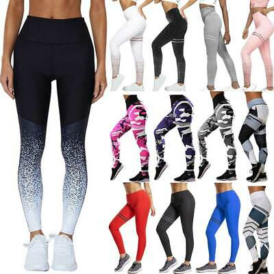 UK Womens Athletic Gym Yoga Activewear Ladies Running Pants Trousers Leggings