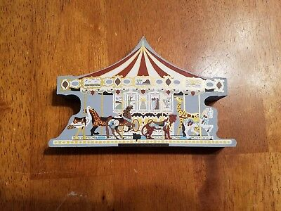 The Cat's Meow Village Herschel Spellman Carousel 1997 Faline