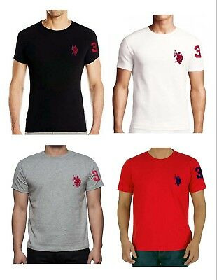 POLO RALPH LAUREN Mens T Shirt Brand New With Tag CREWNECK Tee S M L ... 36aedcb9b6dc