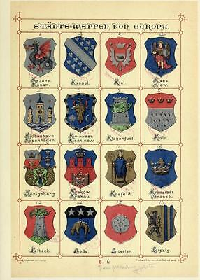 110 Old Heraldry Books On Dvd - Family Crests Shields Emblems Ancestry Genealogy