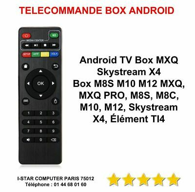 Box Telecommande Mxq Pro 4 K X96 T95M T95N M8S Neuve Remote  Box Android