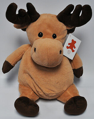 EB Embroider Moose 16 Inch Embroidery Stuffed Animal