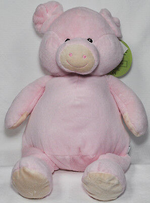 EB Embroider Pig 16 Inch Embroidery Stuffed Animal