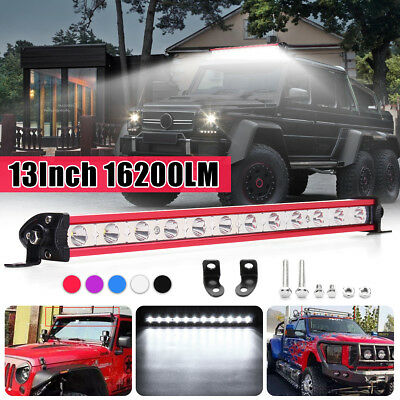 13 Inch 36W White LED Spot Work Light Bar Driving Lamp Offroad SUV Boat Truck
