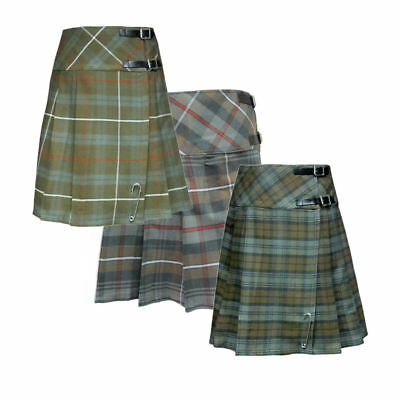 9592145ab TARTANISTA WOMENS 20 Inch Weathered Tartan Kilt Skirt - $19.95 ...