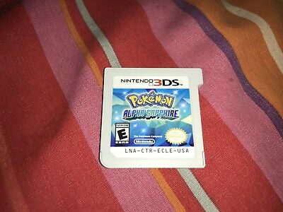 Pokemon Alpha Sapphire Game For Nintendo 3DS Cartridge Only Tested