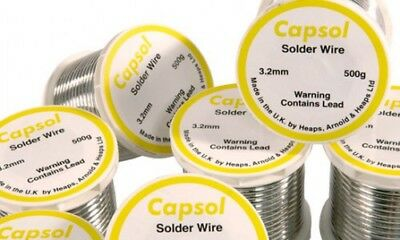1000mm/ 1m of LEAD SOLDER 3.2mm LEADED SOLDERING WIRE FOR PLUMBING Copper