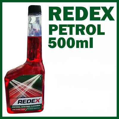 1x 500ml Redex One Shot PETROL Fuel Engine Cleaner Injection Redx Red x