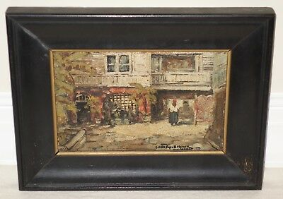 Colette Pope Heldner Oil Painting Antoine's Courtyard French Quarter Vieux Carre