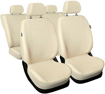 Car seat covers fit TOYOTA PRIUS - Leatherette beige