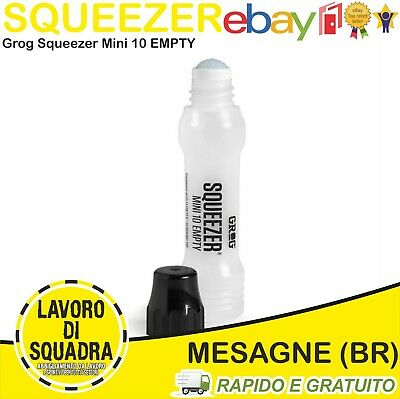 Grog Squeezer Mini 10 Empty Marker Pen 10Mm Pennarello Graffiti Vuoto Pennino